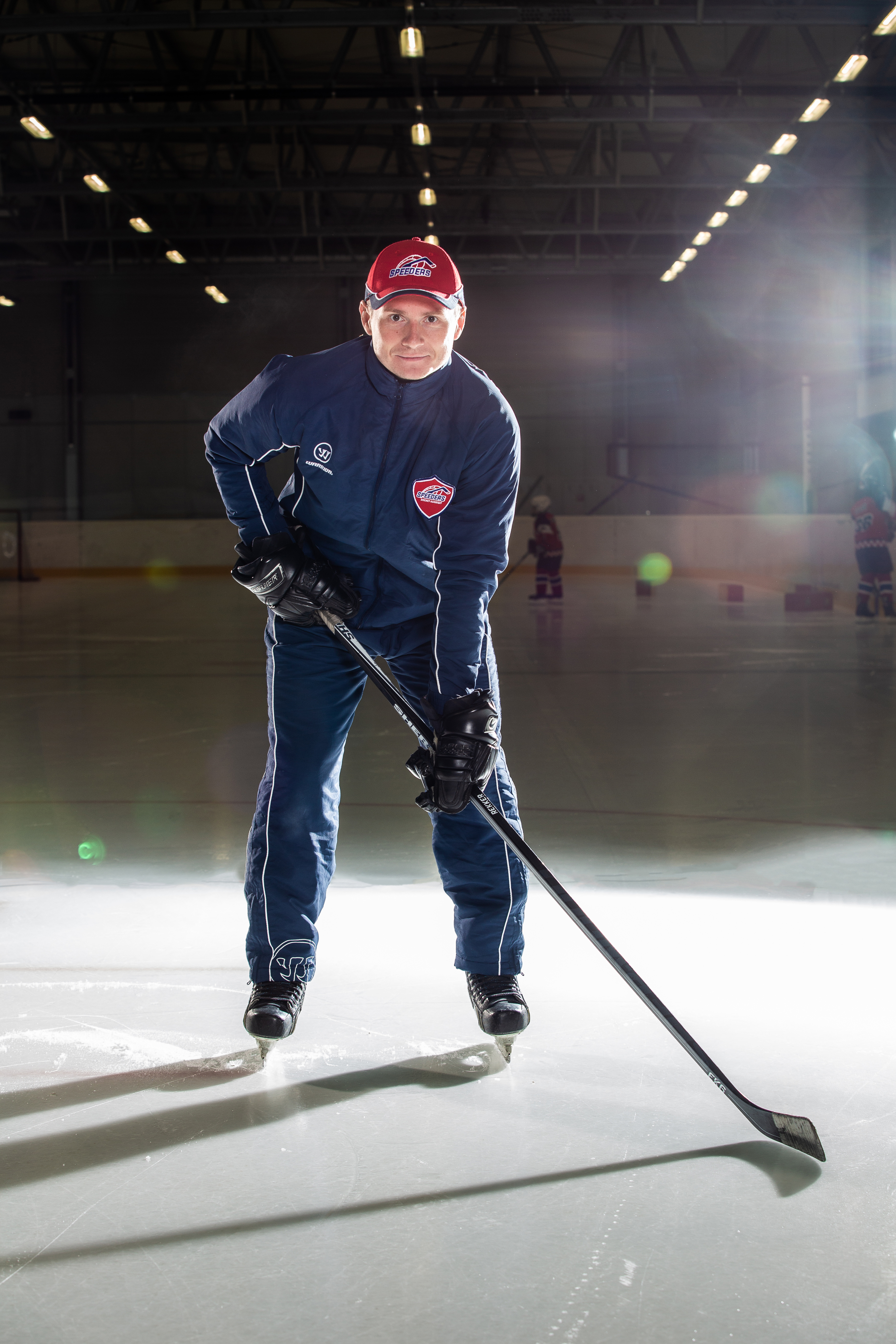 Ivan Kovalik Speeders Bratislava tréner hokej postoj