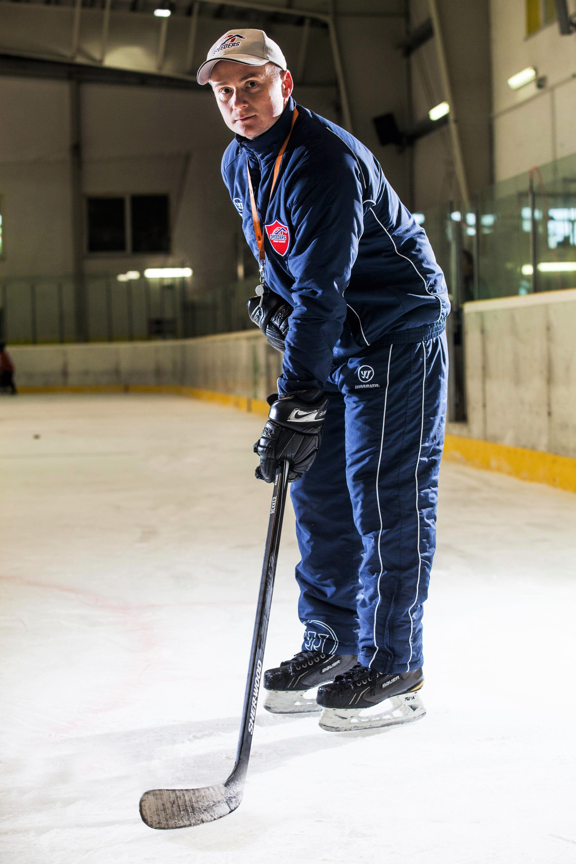 Ivan Kovalik speeders bratislava trener hokejovy postoj