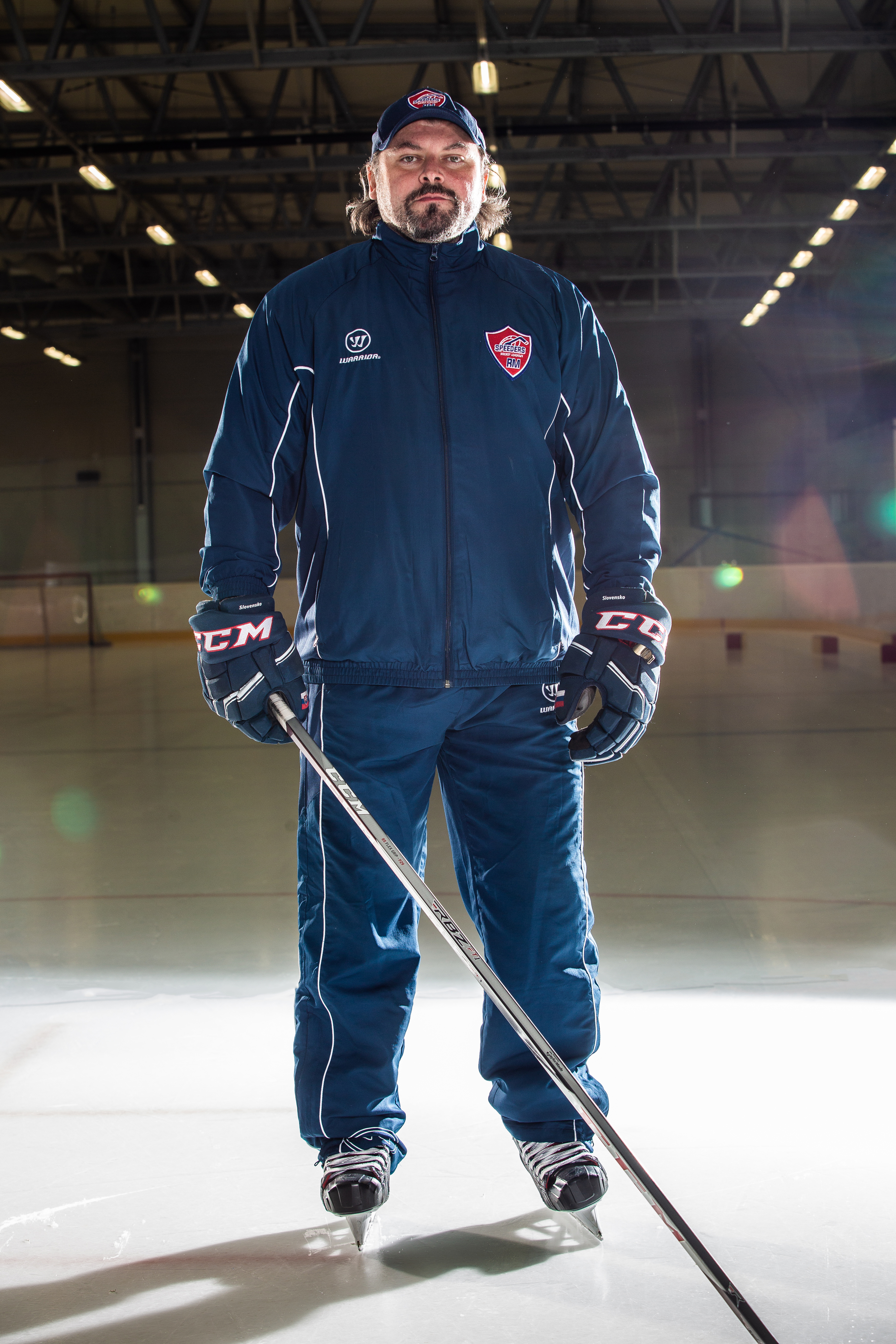 Roman Mega Speeders Bratislava tréner hokej postoj