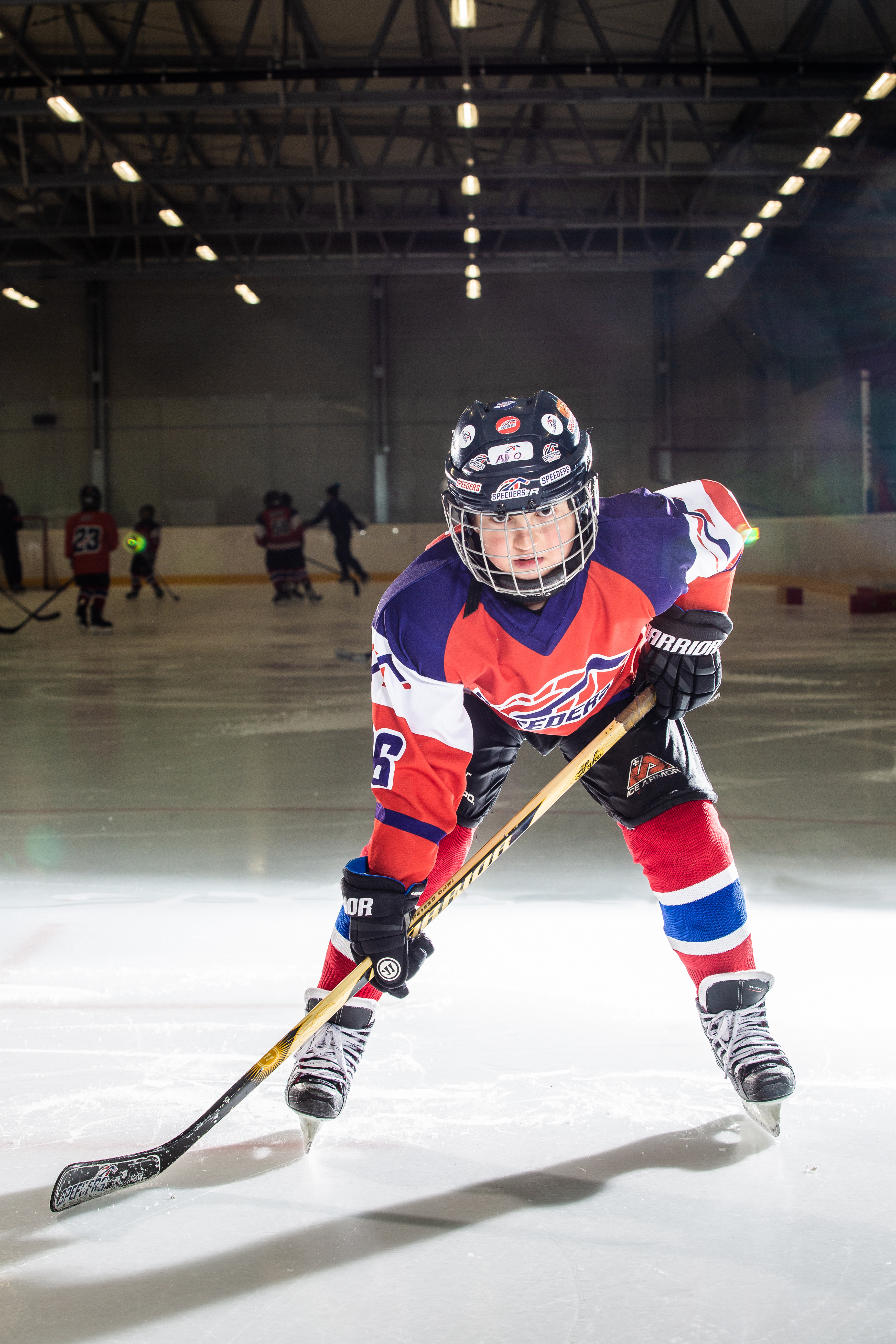 Adrian Zlejsi Speeders Bratislava cislo 86 hokej