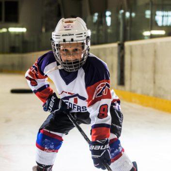 David Dostal Speeders Bratislava hokejovy postoj