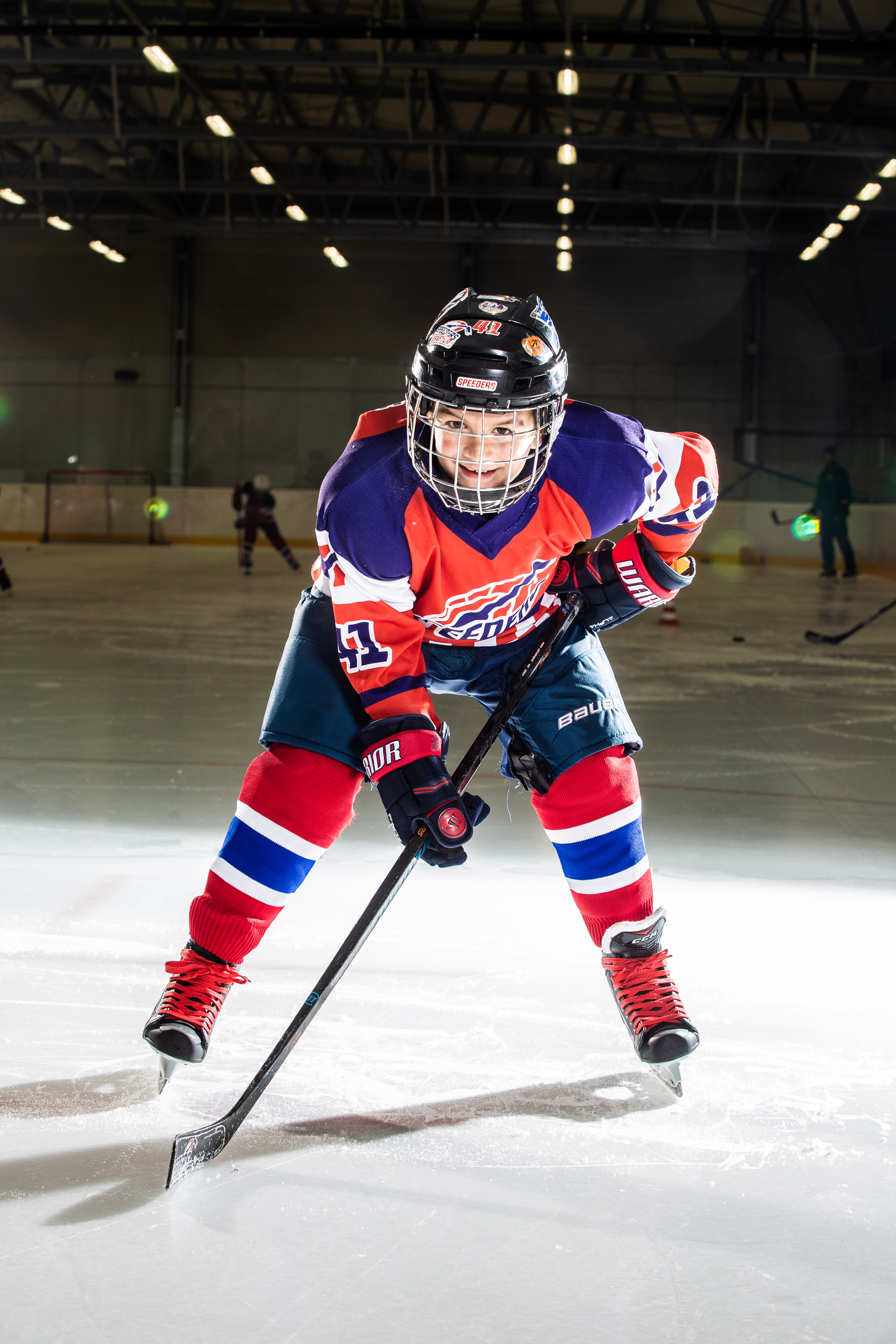 David Halak Speeders Bratislava cislo 41 hokej