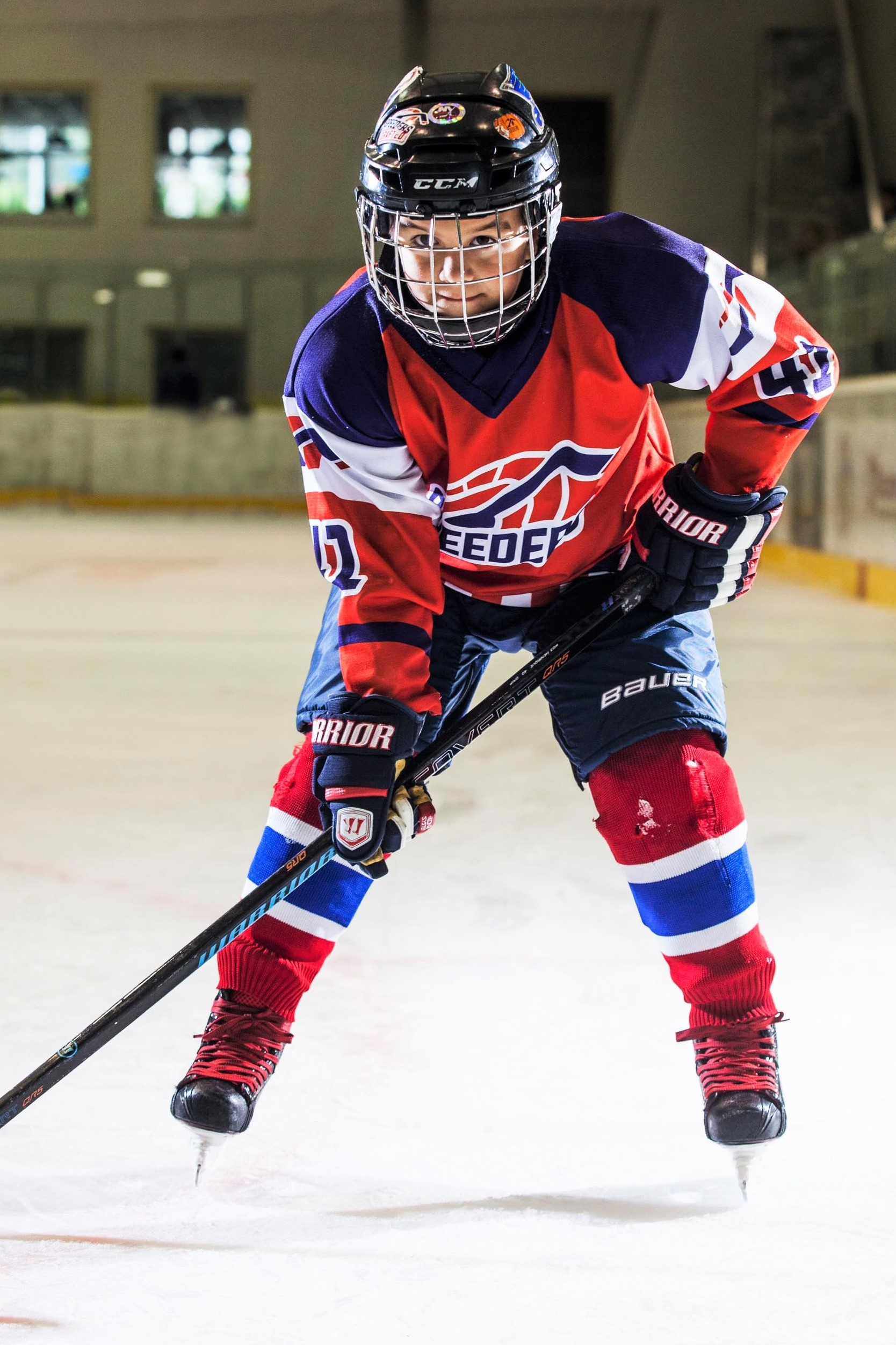 David Halak Speeders Bratislava hokejovy postoj