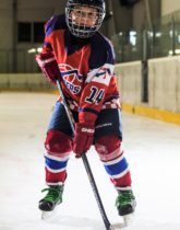 David Hruska Speeders Bratislava hokejovy postoj