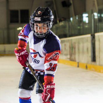 Denis Lacko Speeders Bratislava hokejovy postoj