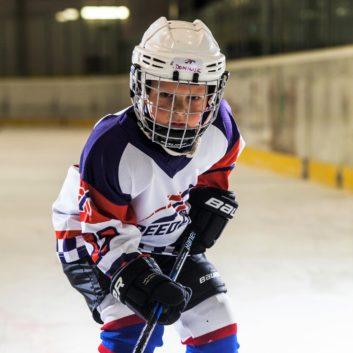 Dominik Zofcin Speeders Bratislava hokejovy postoj