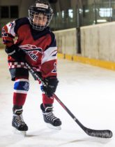 Filip Polacek Speeders Bratislava hokejovy postoj