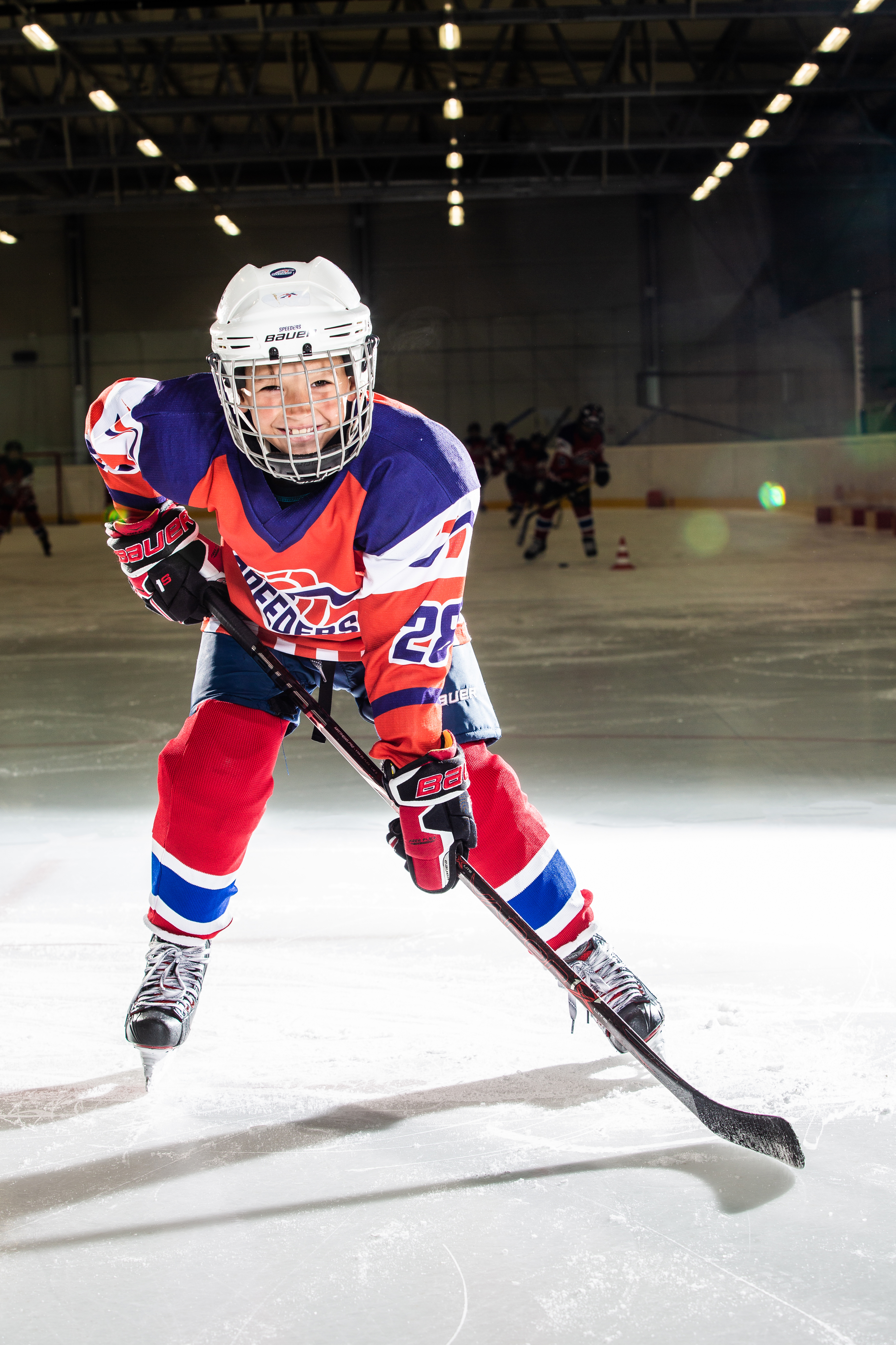 Kristian Hrabovsky Speeders Bratislava cislo 28 hokej