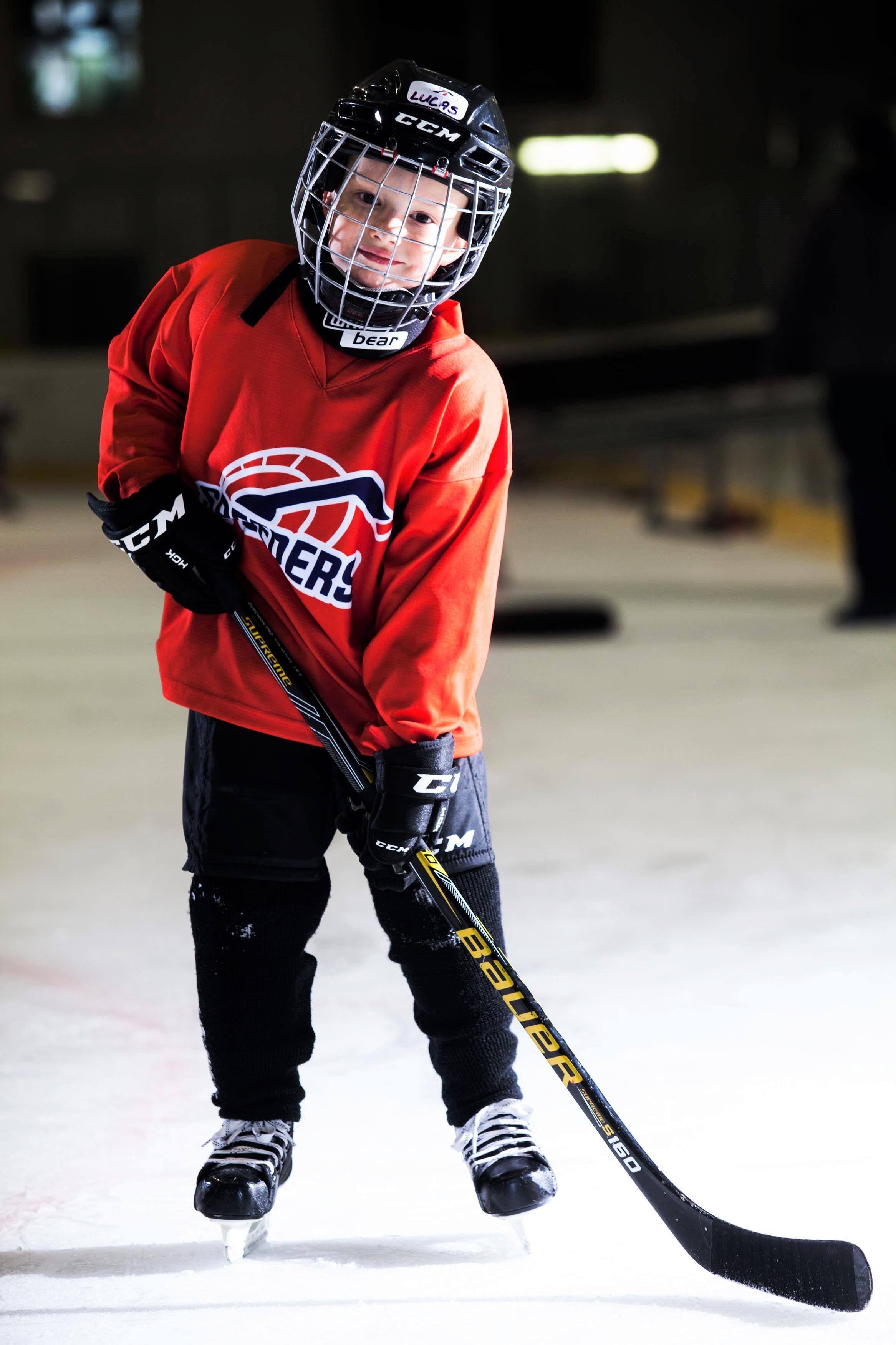 Lukas Berzedi Speeders Bratislava hokejovy postoj