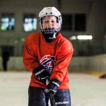 Lukas Marko Speeders Bratislava hokejovy postoj