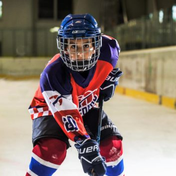 Martin Laczki Speeders Bratislava hokejovy postoj