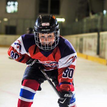 Max Markulak Speeders Bratislava hokejovy postoj
