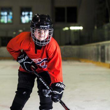 Maxim Krejci Speeders Bratislava hokejovy postoj