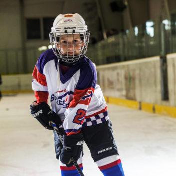 Maximilian Sirotak Speeders Bratislava hokejovy postoj