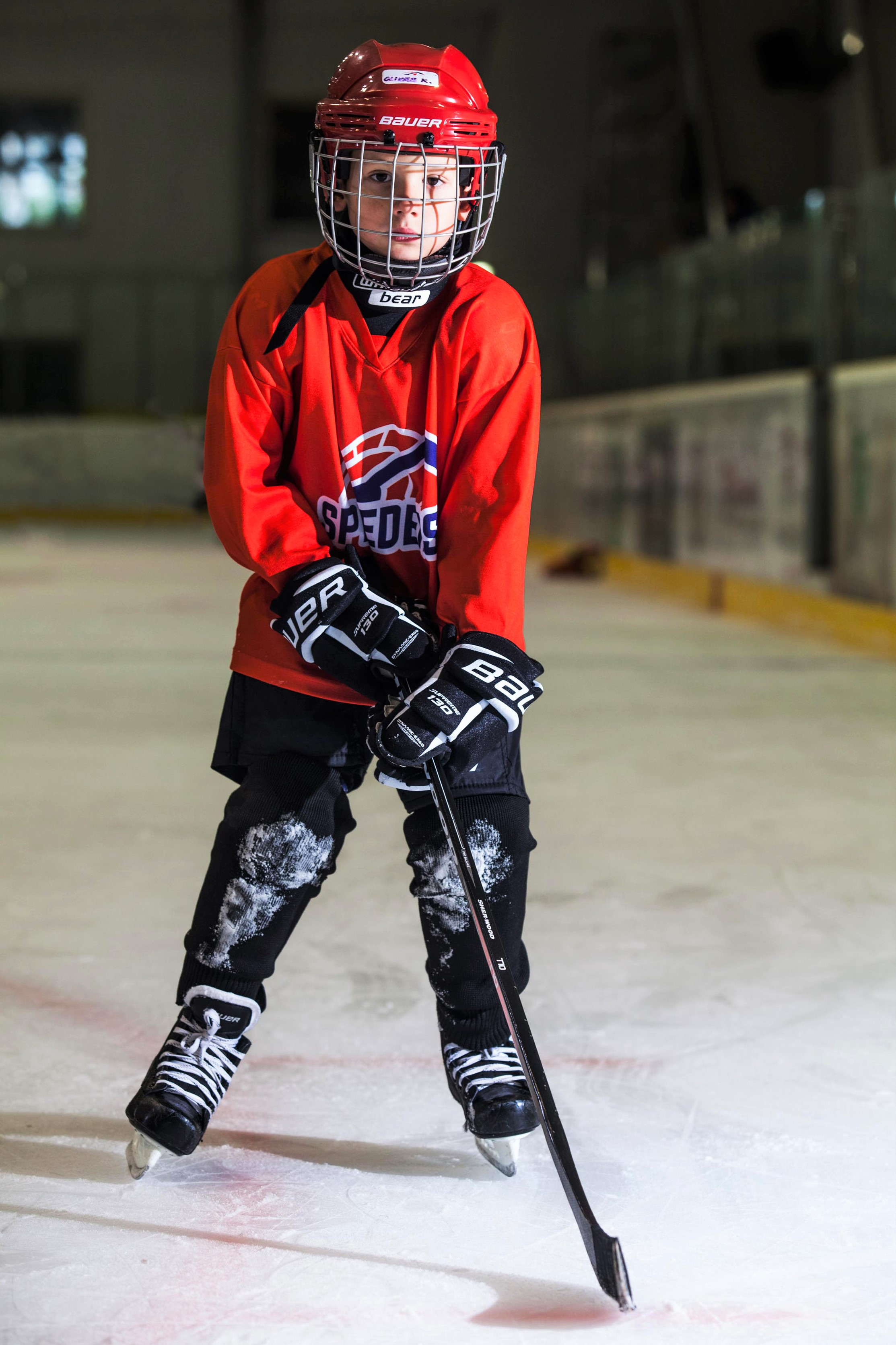Oliver Kalma Speeders Bratislava hokejovy postoj