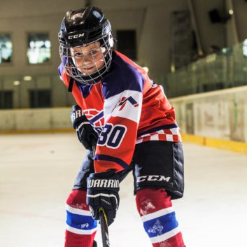 Oliver Samuel Ivanicko Speeders Bratislava hokejovy postoj