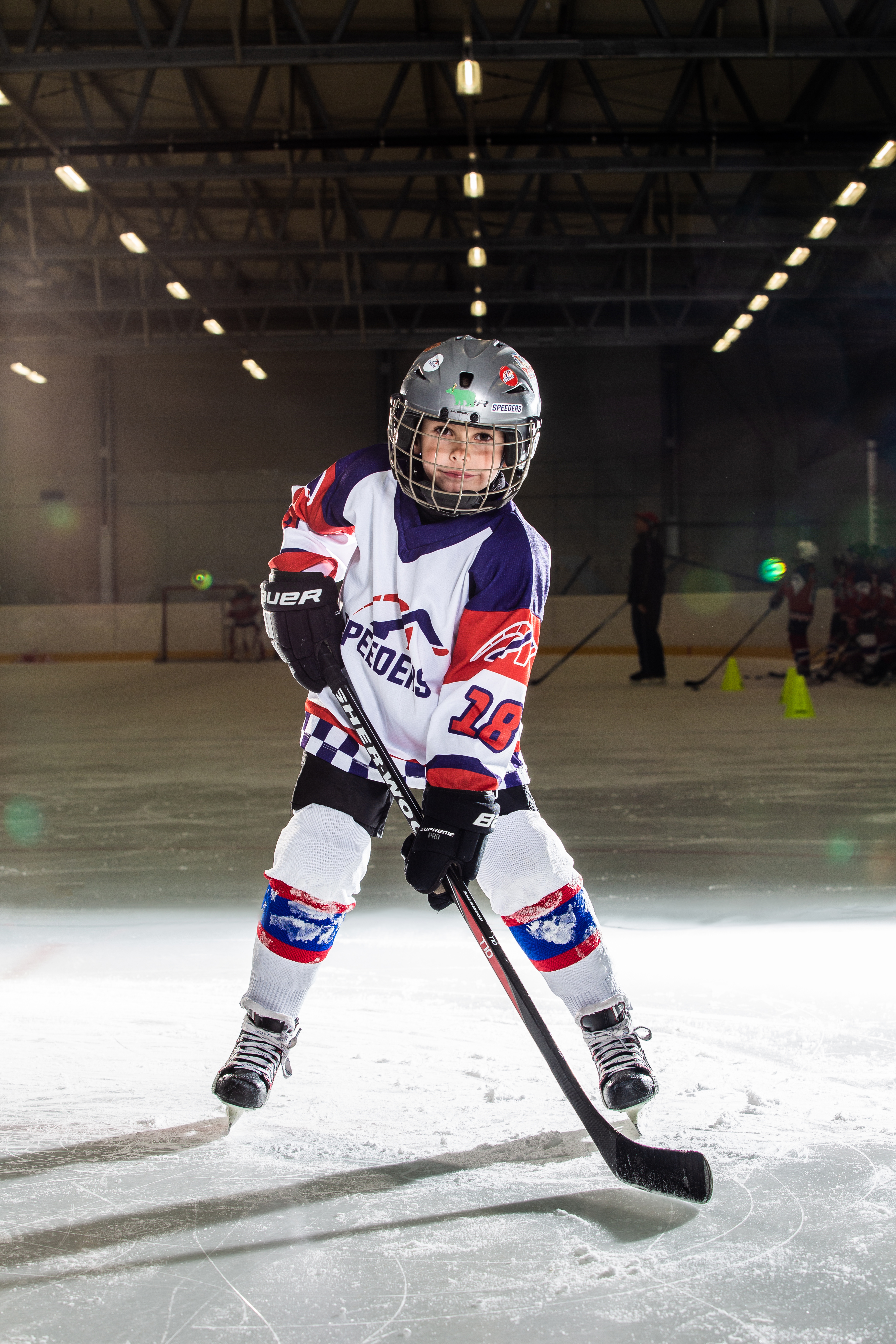 Peter Hodal Speeders Bratislava cislo 18 hokej