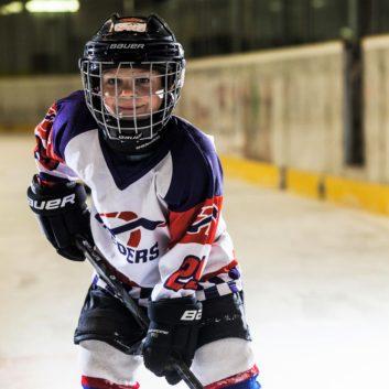 Peter Kolnecik Speeders Bratislava hokejovy postoj
