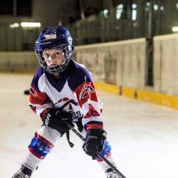 Roman Kolnecik Speeders Bratislava hokejovy postoj