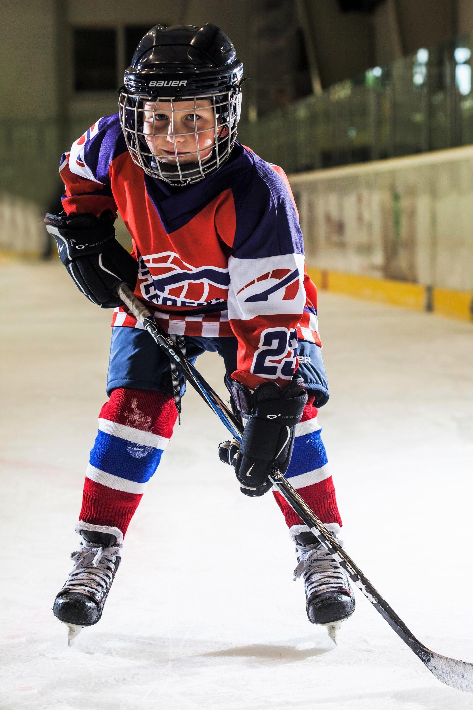Simon Liptak Speeders Bratislava hokejovy postoj