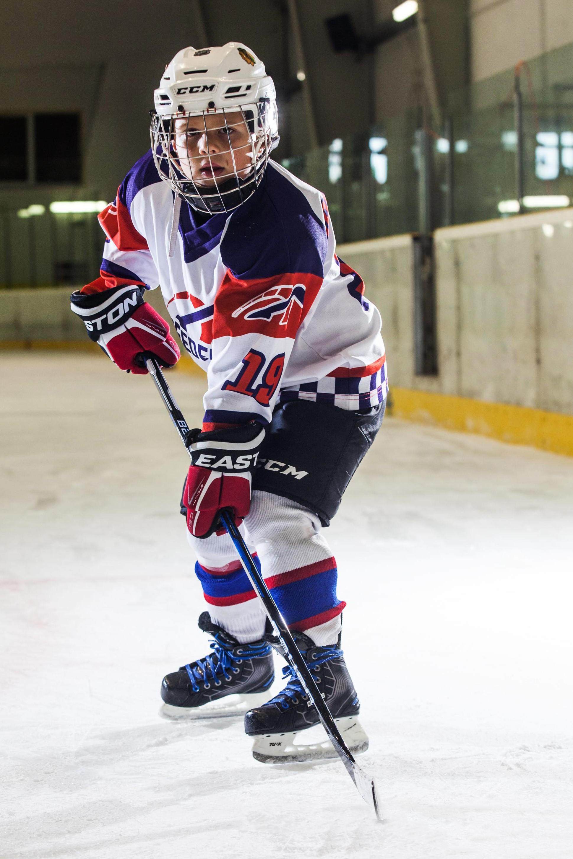 Simon Michal Hruska Speeders Bratislava hokejovy postoj