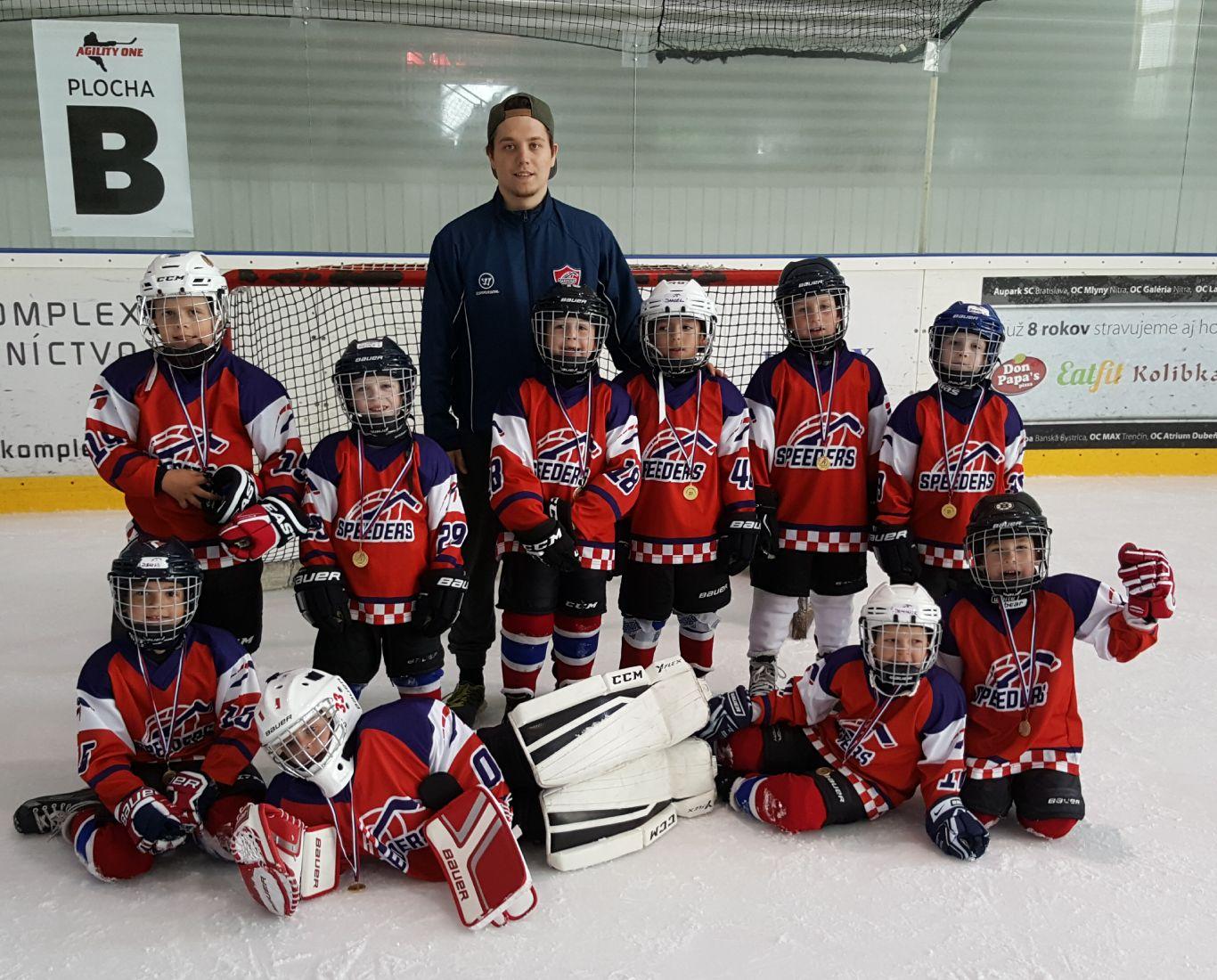Speeders hokej AgilityOneCup team