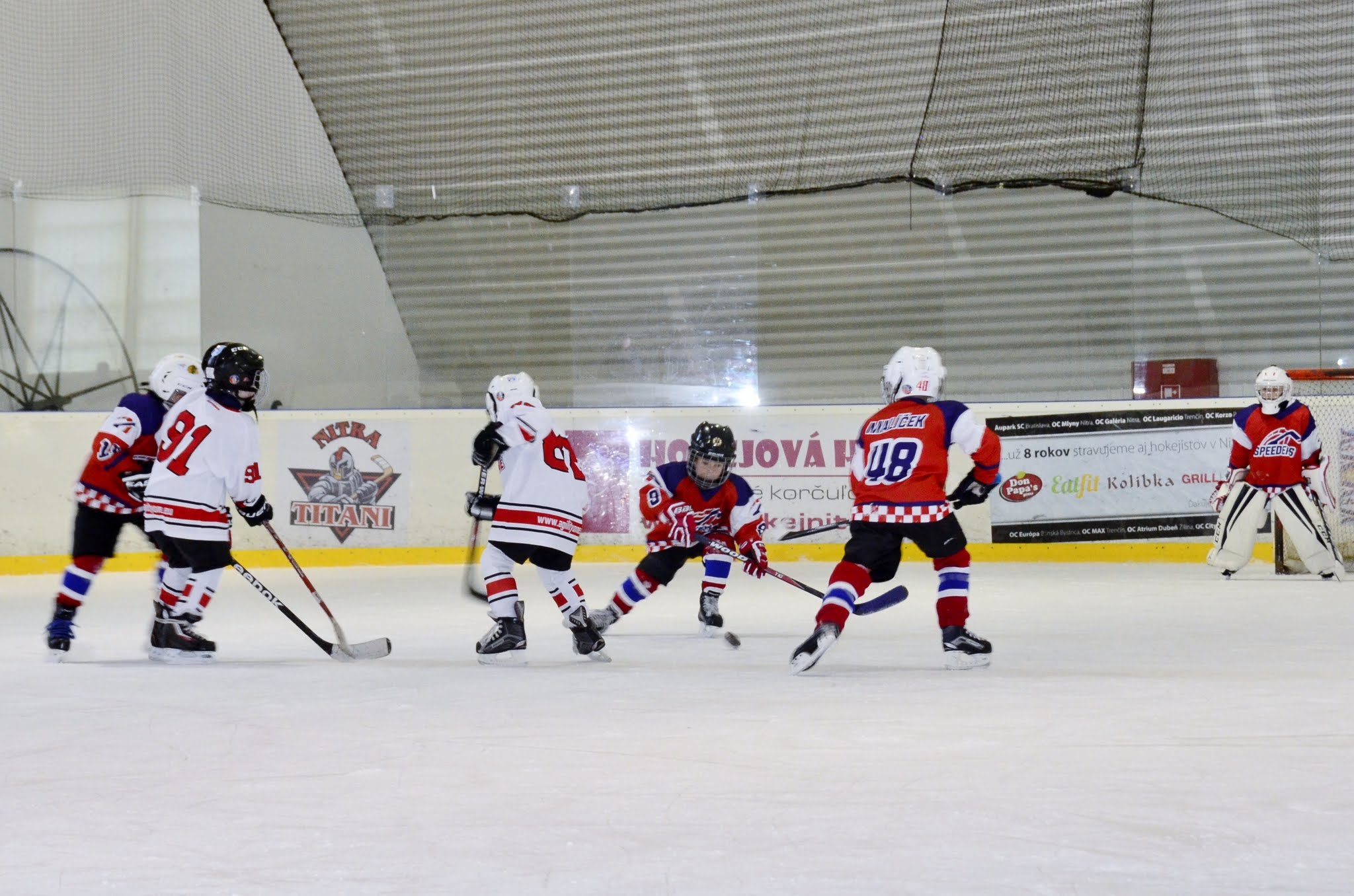 Speeders hokej AgilityOneCup6