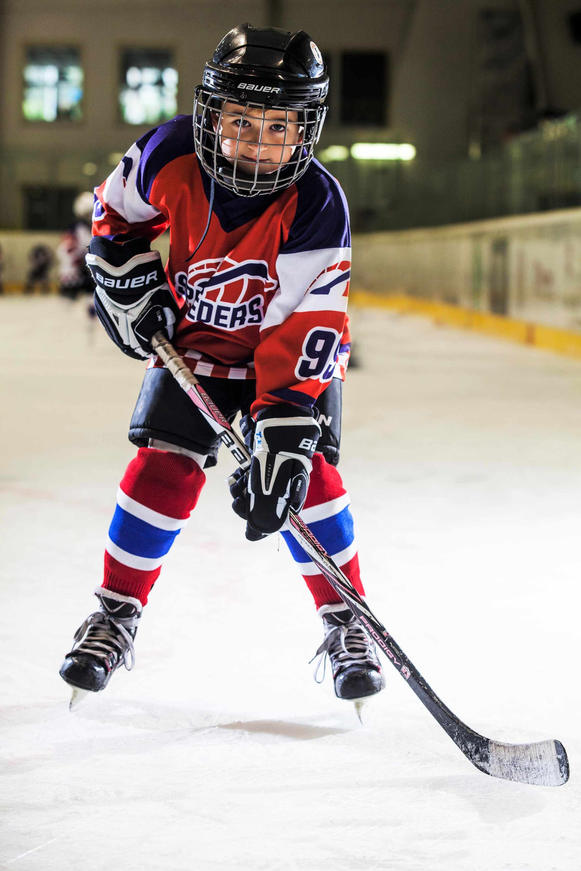 Tomas Kovac Speeders Bratislava hokejovy postoj
