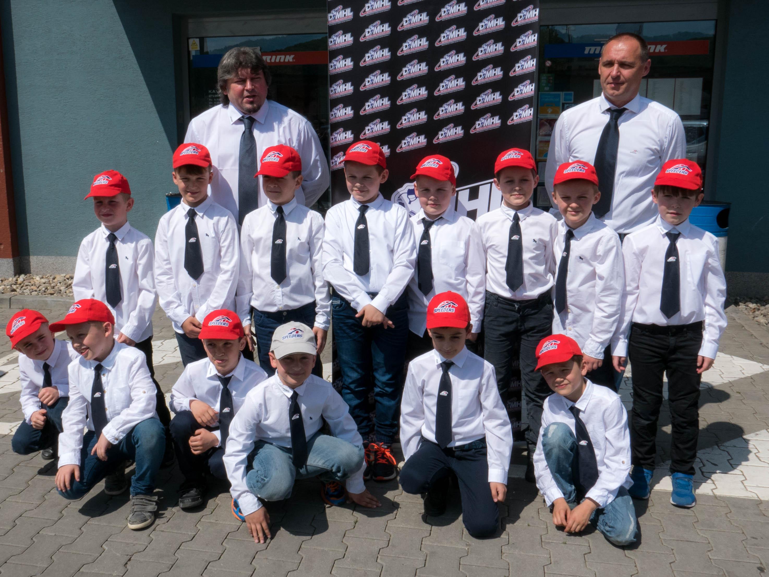 hokejovy turnaj DMHL trencin Speeders Bratislava1