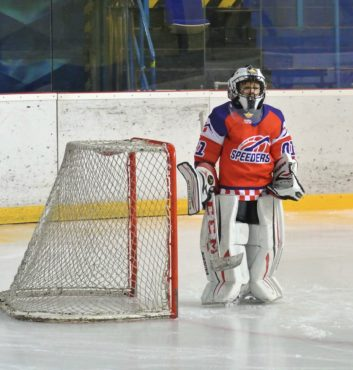 hokejovy turnaj Puchov 2.miesto speeders bratislava brankar