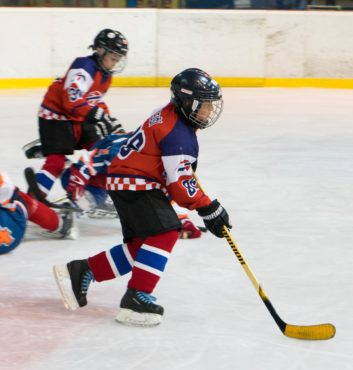 hokejovy turnaj Puchov 2.miesto speeders bratislava zapas utok