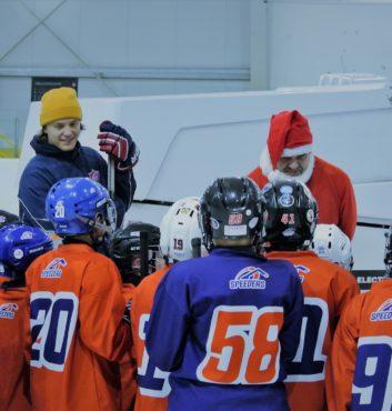 hokejovy mikulas speeders hokej deti darceky na lade banner bratislava ruzinov 9