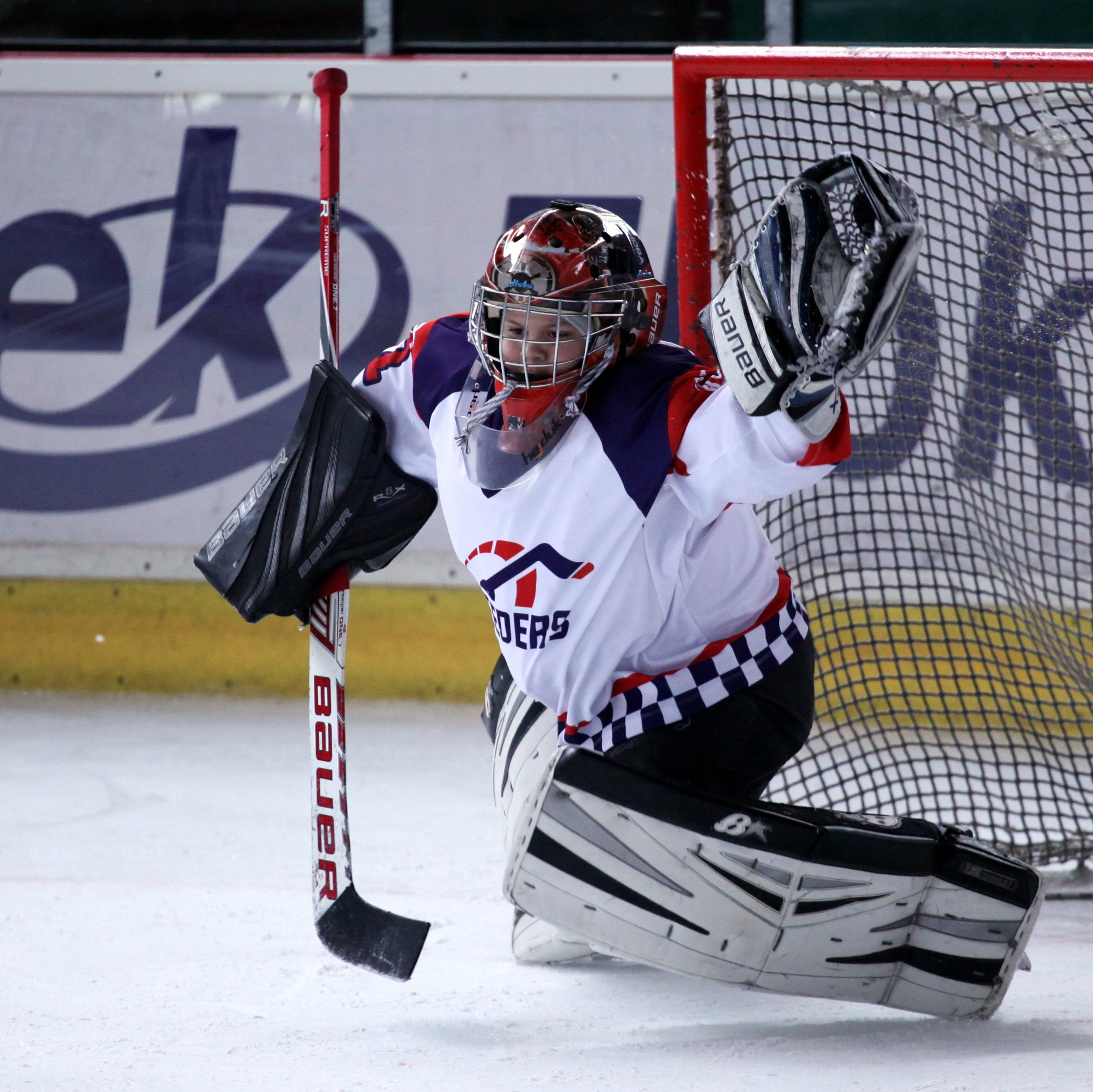 Hockey Speeders Bratislava turnaj Milevsko brankar