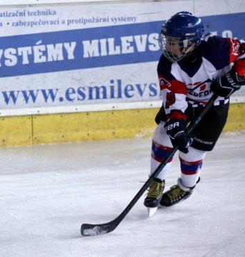 Hockey Speeders Bratislava turnaj Milevsko mato