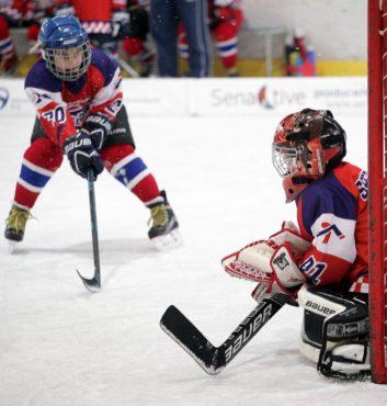 Speeders Hockey Bratislava turnaj karvina_ chyt brankar