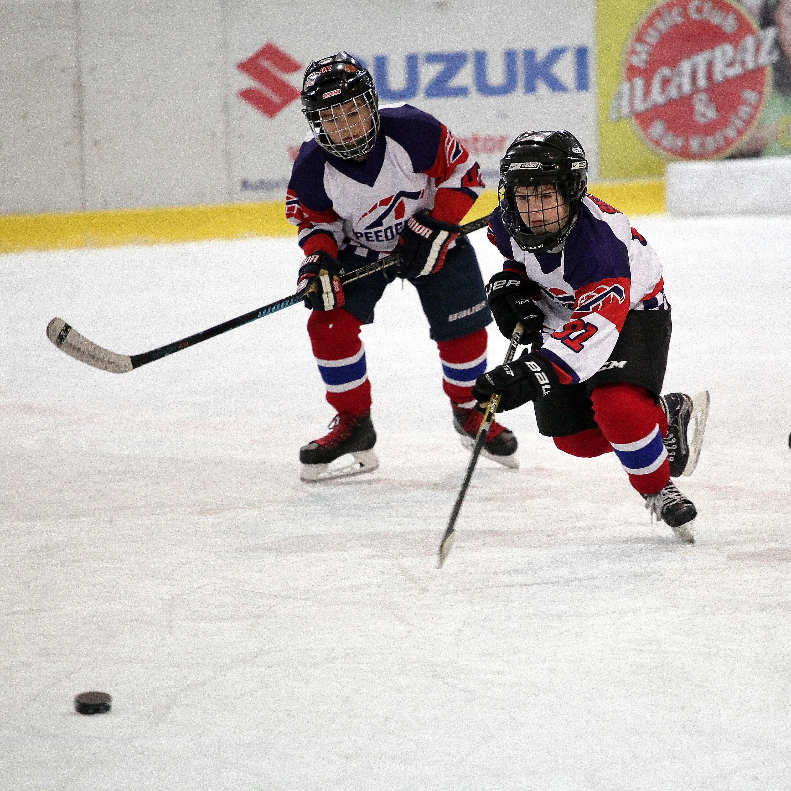 Speeders Hockey Bratislava turnaj karvina_ hokejova akcia3