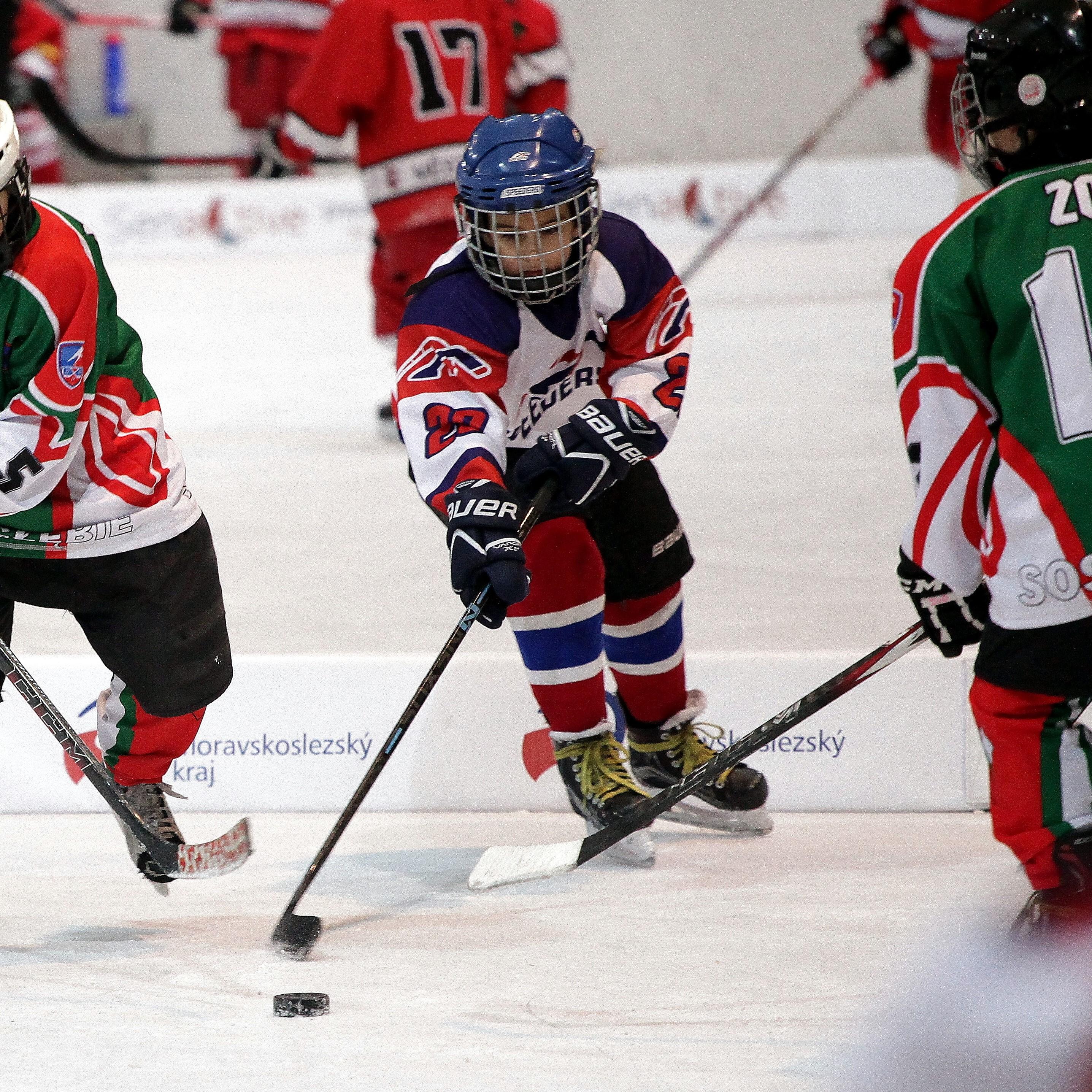 Speeders Hockey Bratislava turnaj karvina_ hokejova akcia4