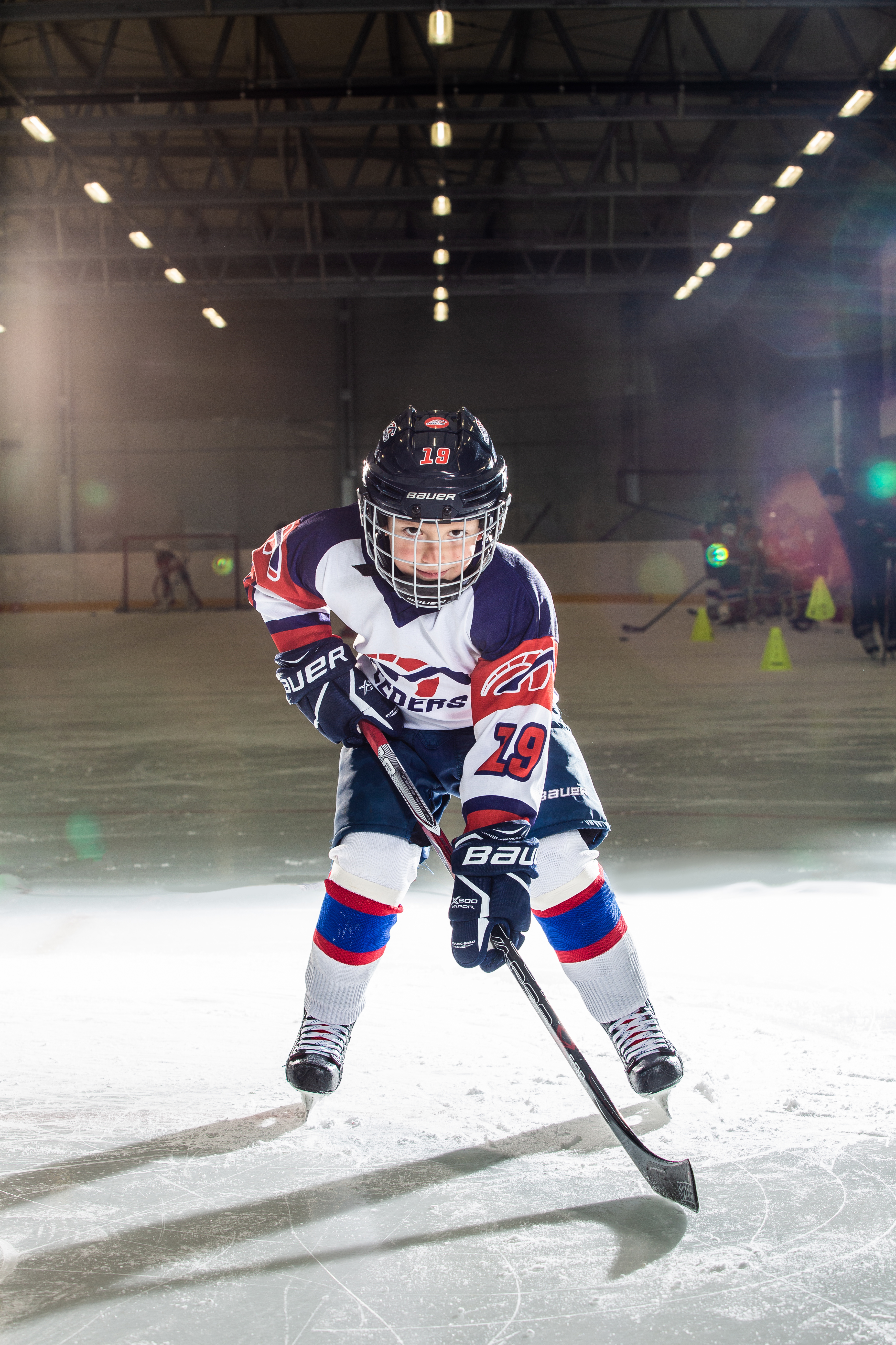 Alex Jezik Speeders Bratislava cislo 19 hokej