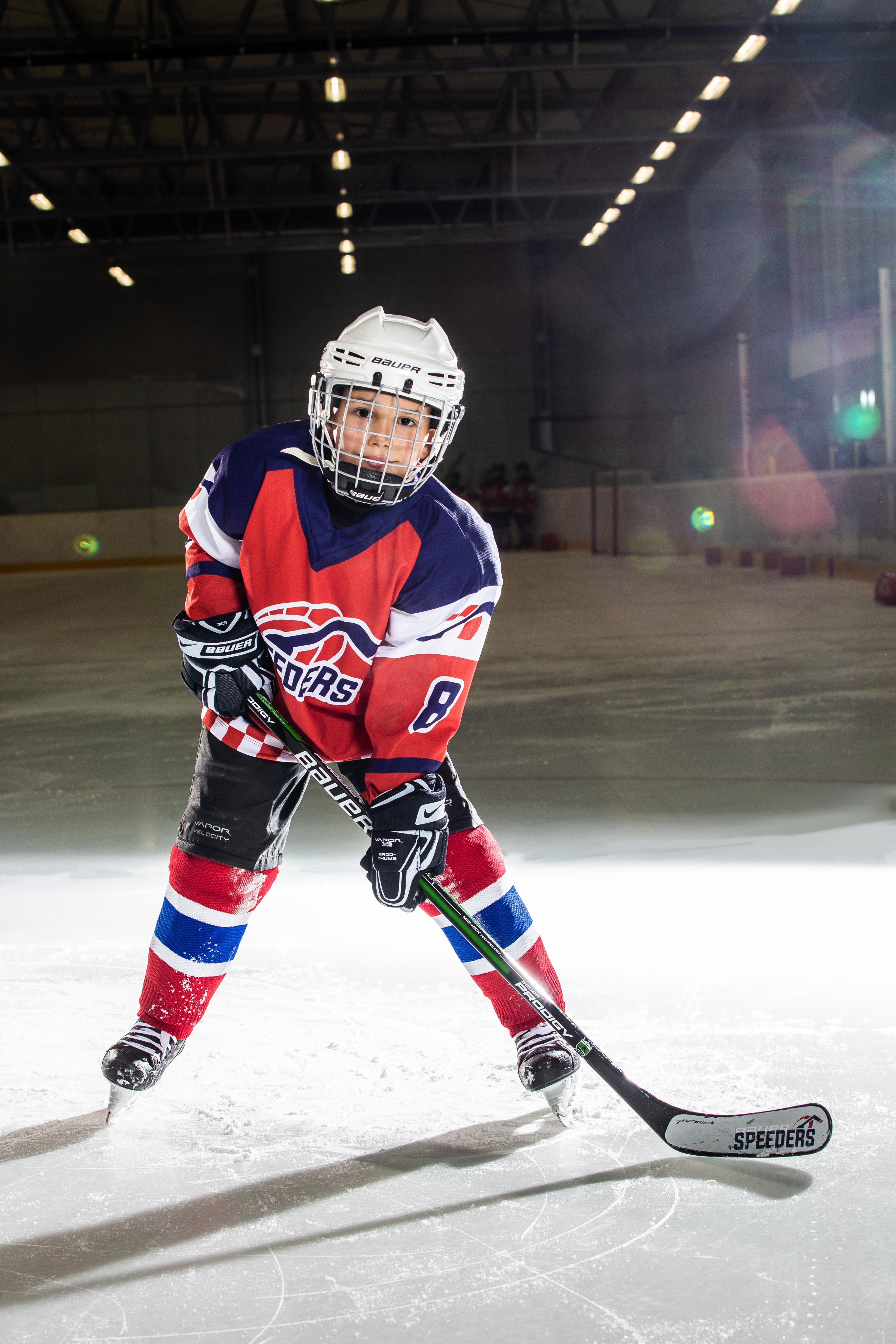 Alexander Snajder Speeders Bratislava cislo 8 hokej