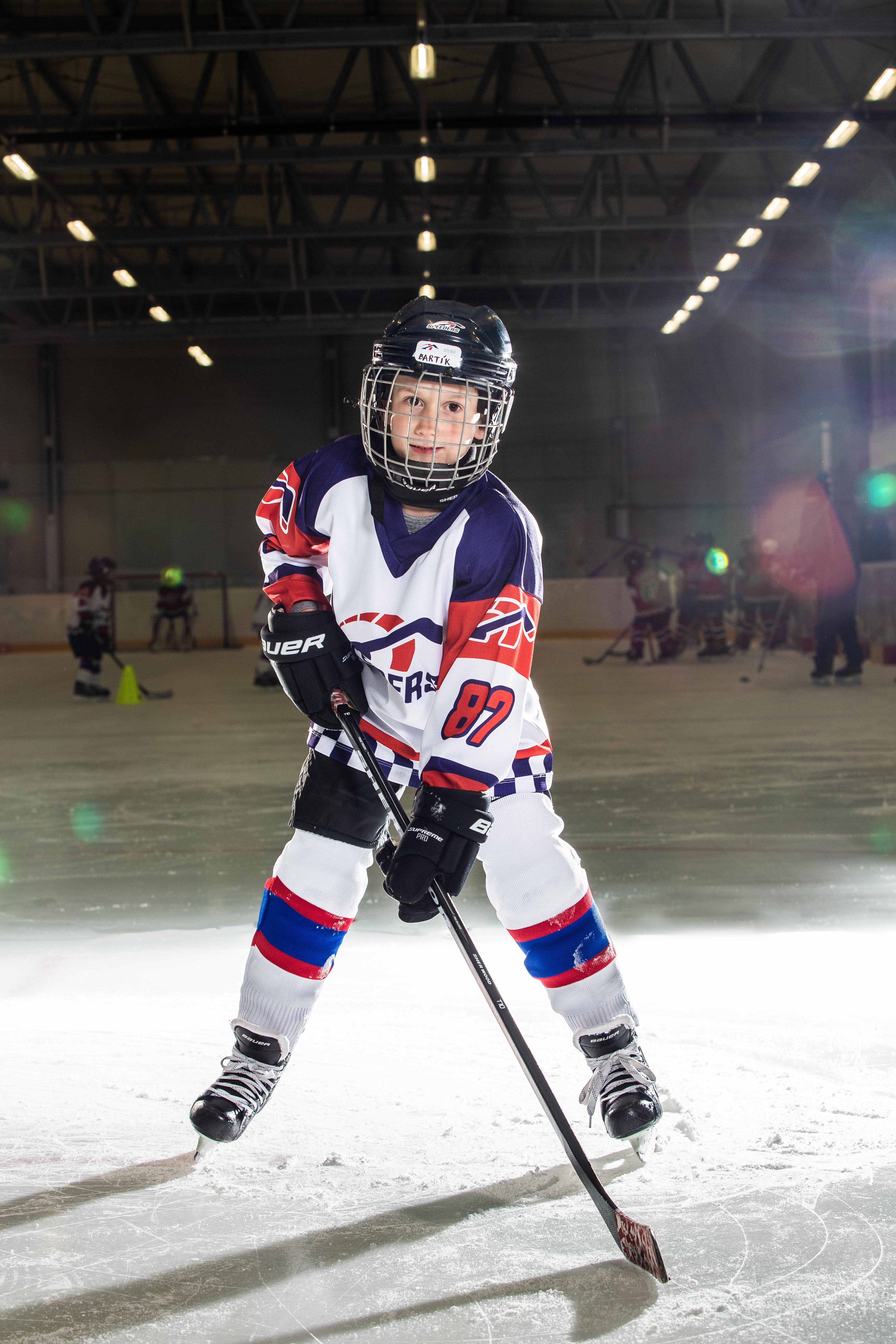 Bartolomej Drienovsky Speeders Bratislava cislo 10 hokej