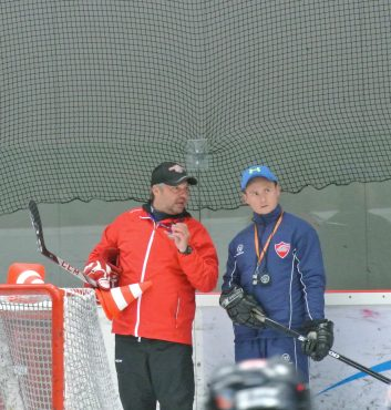 Speeders_hokej bratislava_ ludek bukac trening 12