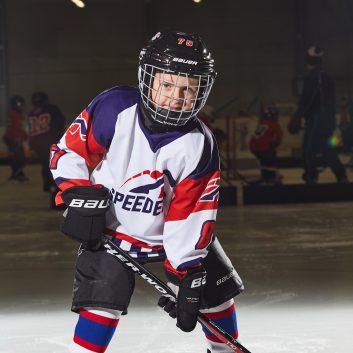 Timotej Ssaksa Speeders Bratislava Hockey postoj