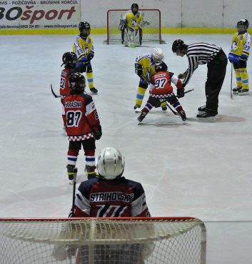 speeders hokej deti turnaj moravce buly