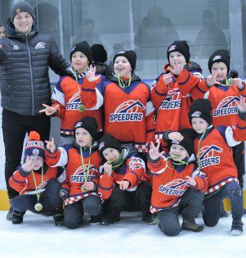 speeders 3miesto hokej turnaj pezinok deti 45